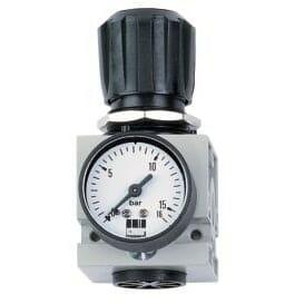 Vysoká bezpečnosť prevádzky vďaka regulácii tlaku pomocou piestu