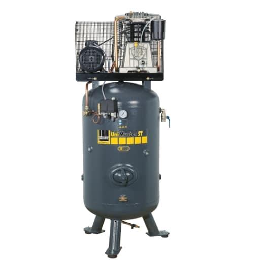 Najuniverzálnejší stacionárny kompresor na 500l vzdušníku. Vhodný aj do exponovaných prevádzok servisov a lakovní s jedným boxom.