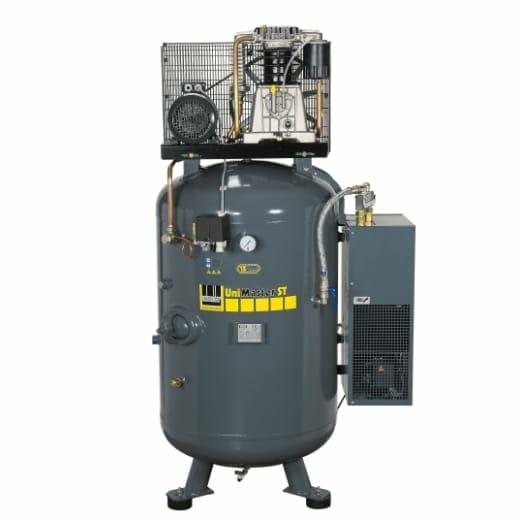 Kompresor na vysoký tlak 15 bar na vzdušníku s predĺženou zárukou proti prehrdzaveniu a 500 l objemem! Vybavený integrovanou sušičkou!